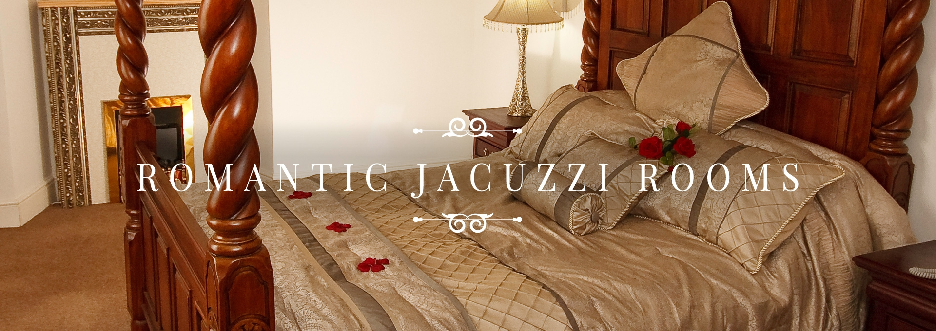 Romantic Jacuzzi Rooms at the Durrant House Hotel Bideford