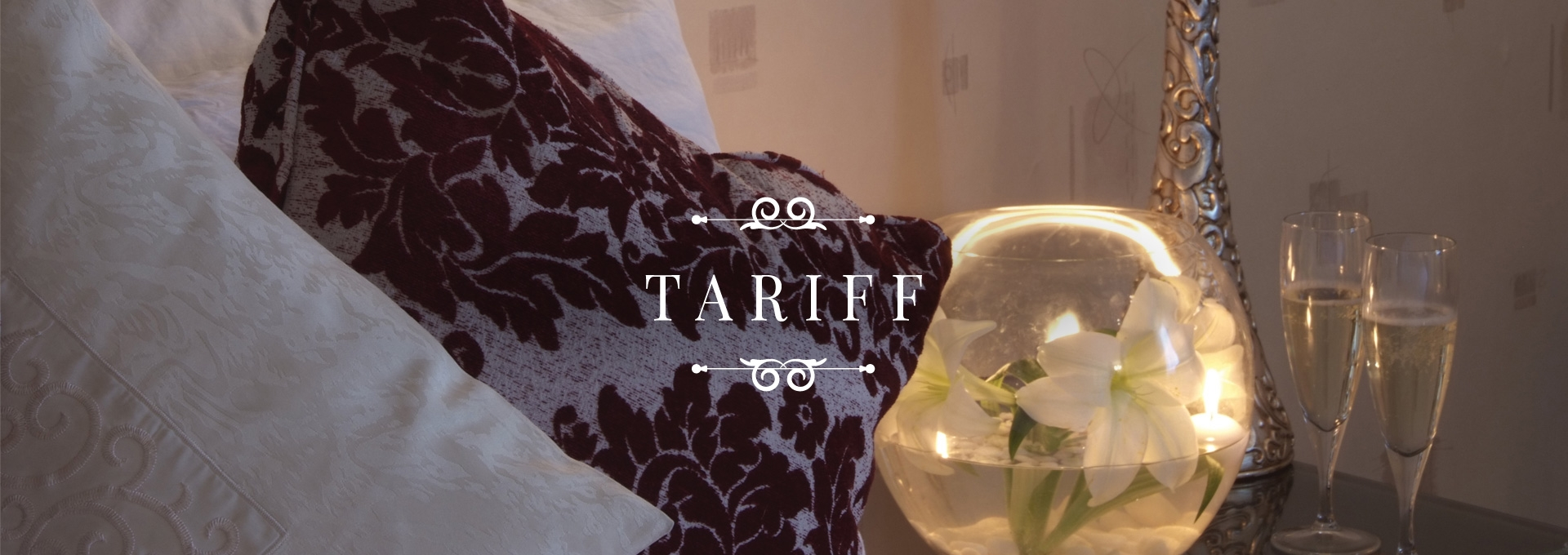 Tariff at the Durrant House Hotel