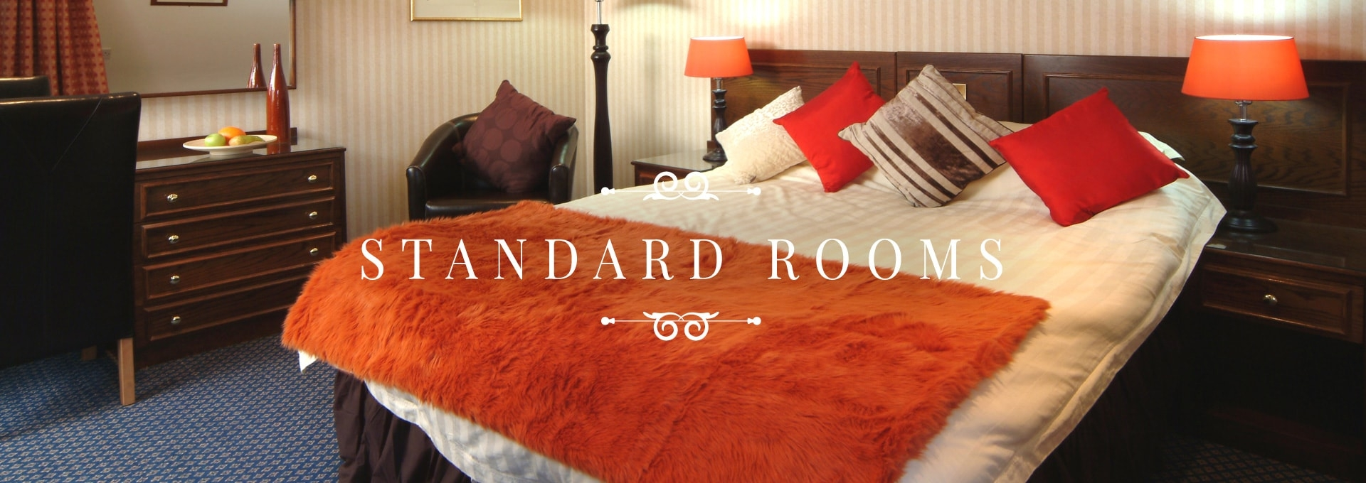 Standard Rooms at the Durrant House Hotel Bideford