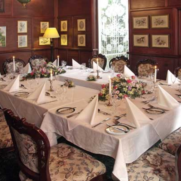 Dining at the Durrant House Hotel