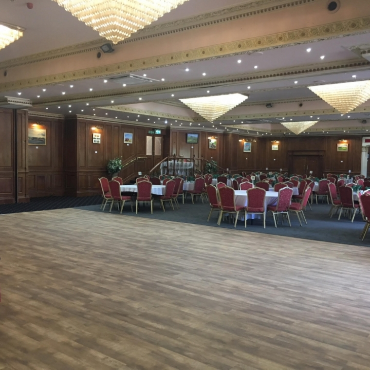 Large ballroom at the durrant house hotel