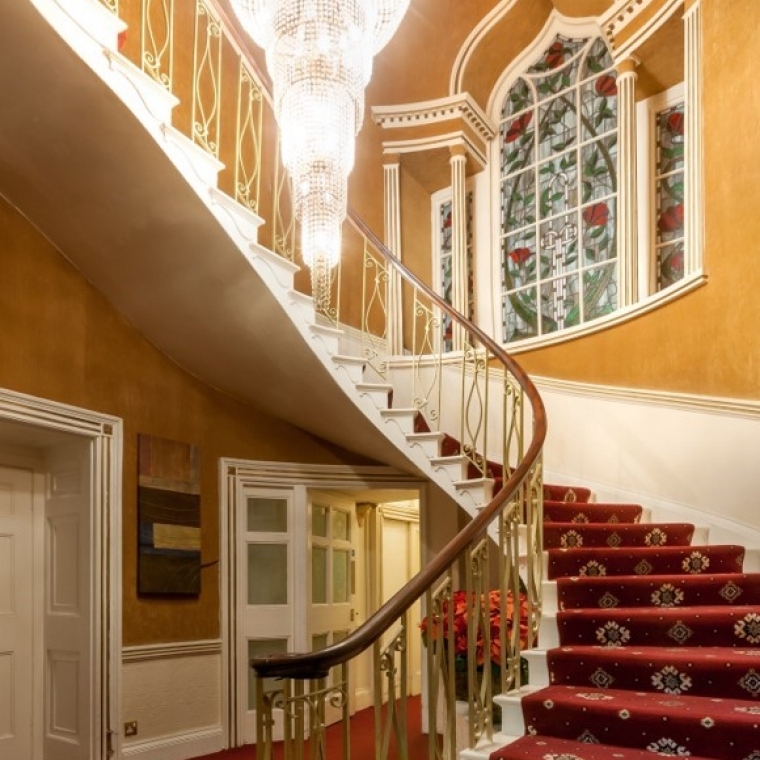 The Spiral Staircase at the durrant house hotel
