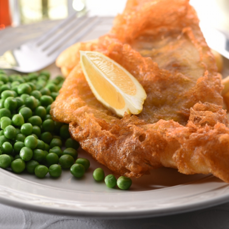 Fish and Chips at the Durrant House Hotel