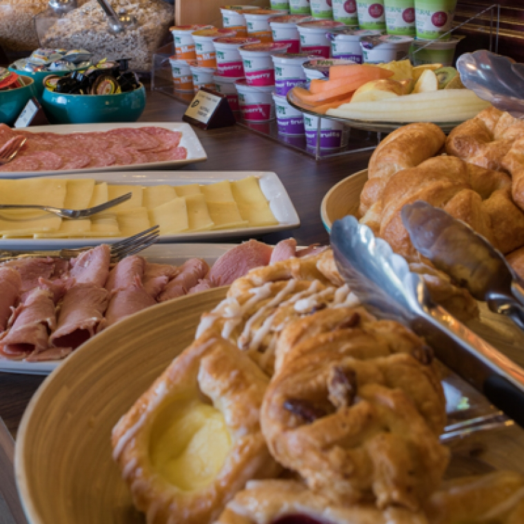 Breakfast Buffet at the Durrant House Hotel